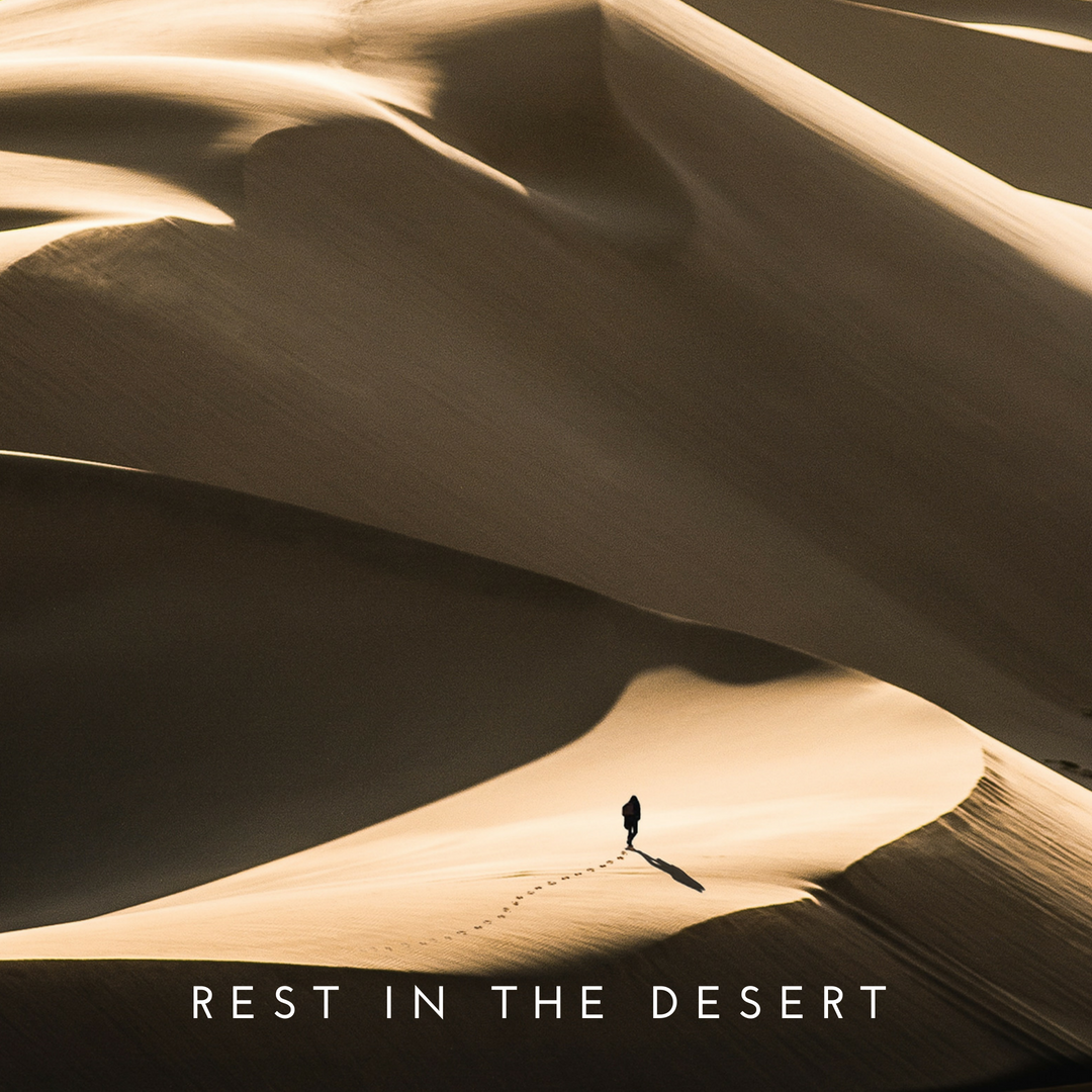 rest in the desert
